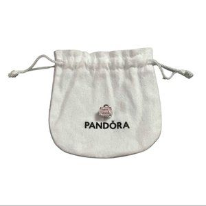 "PANDORA Pink Travel Bag Charm - ""Love Travels"""